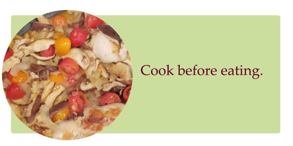cooking shiitake mushrooms