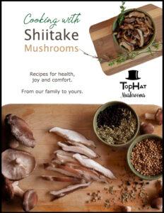 shiitake recipe book cover ebook